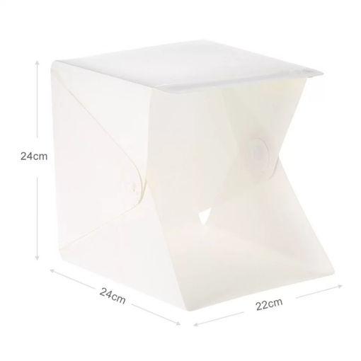 Imagen de Mini caja de luz led para estudio de fotografía