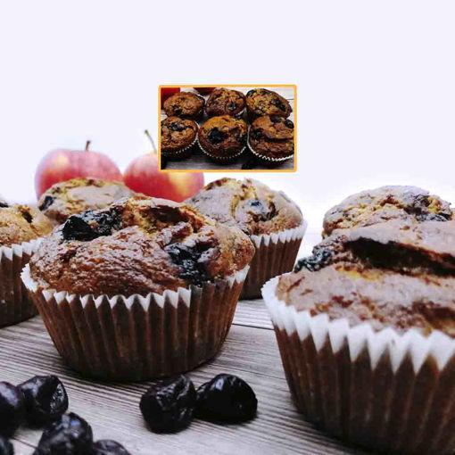 Imagen de Muffin de Manzana y Arándanos