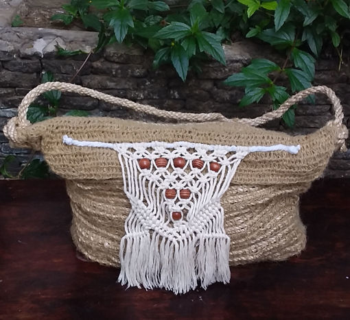 Imagen de Bolso Tejido en Crochet