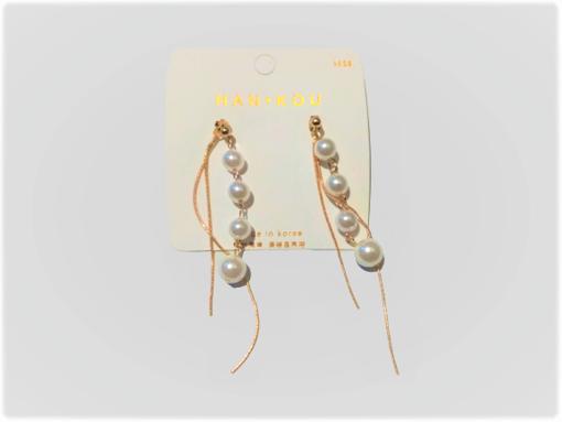 Imagen de Aretes de perla