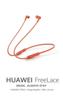 Imagen de Huawei Freelace Naranja