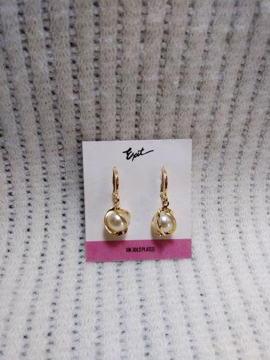Imagen de Aretes con perlas