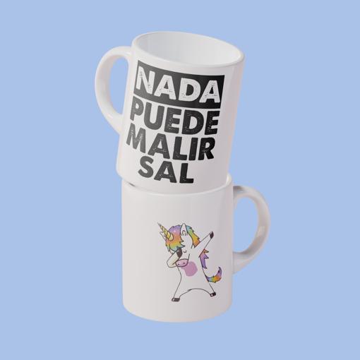 Imagen de Taza Nada puede malir sal