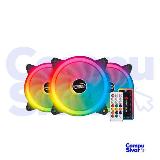 Imagen de Ventiladores RGB para PC Fantech FB-301