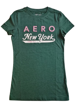 "Imagen de Blusa Aéropostale ""New York"" Verde"