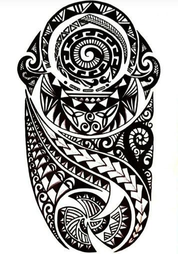 Imagen de Tatuaje temporal decorativo grande - Mandala