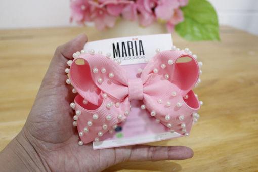 Imagen de Moño Boutique perlas