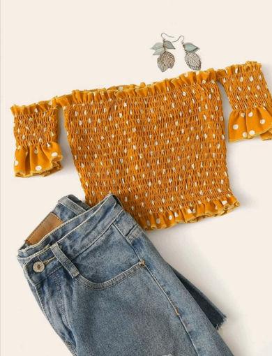 Imagen de Blusa de hombros descubiertos