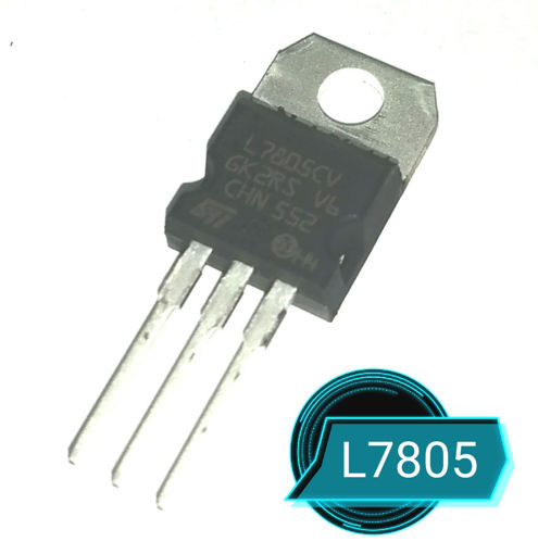 Imagen de Regulador de voltaje 7805