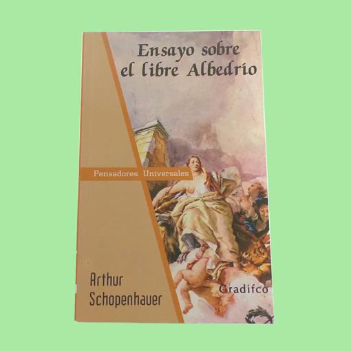 Imagen de Ensayo sobre el libre albeldrío - Arthur  Schopenhauer