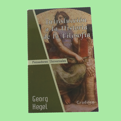 Imagen de Introducción a la historia de la filosofía - Georg Hegel