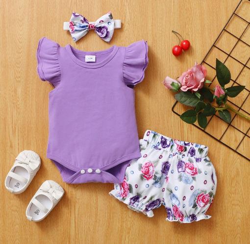 Imagen de Short floral y bodysuit