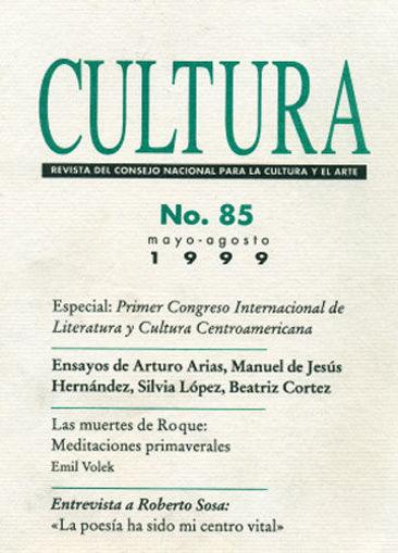 Imagen de Revista Cultura No.  85