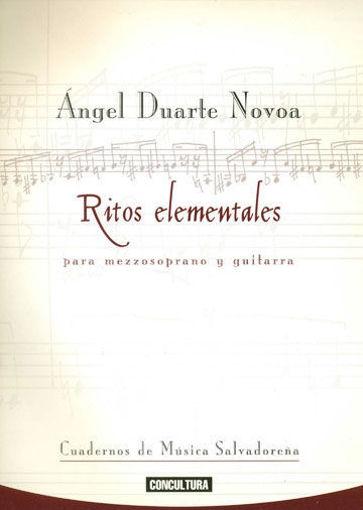 Imagen de Ritos elementales para mezzosoprano y guitarra