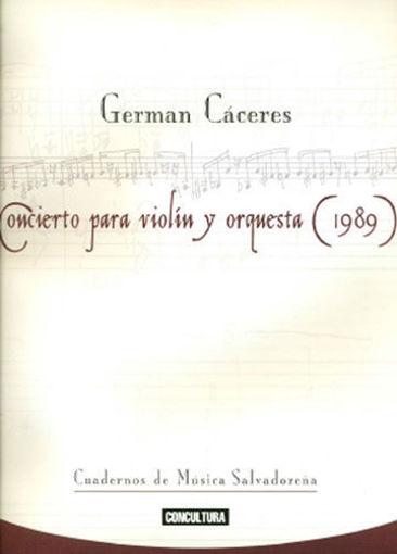 Imagen de Concierto para violín y orquesta (1989)