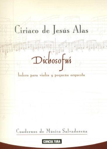 Imagen de Dichosofuí, bolero para violín y pequeña orquesta