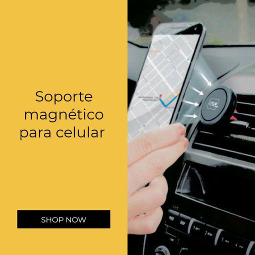 Imagen de Soporte de Auto Magnético i2GO para celular