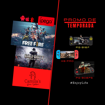 Imagen de Gamepad Inalámbrico Control Joystick IPEGA
