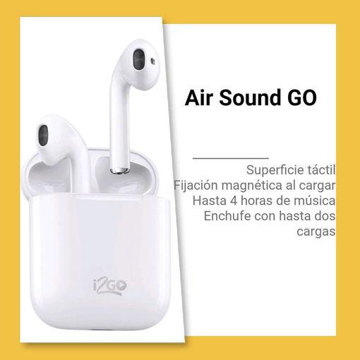 Imagen de Audifonos  Inalambricos Air Sound Go