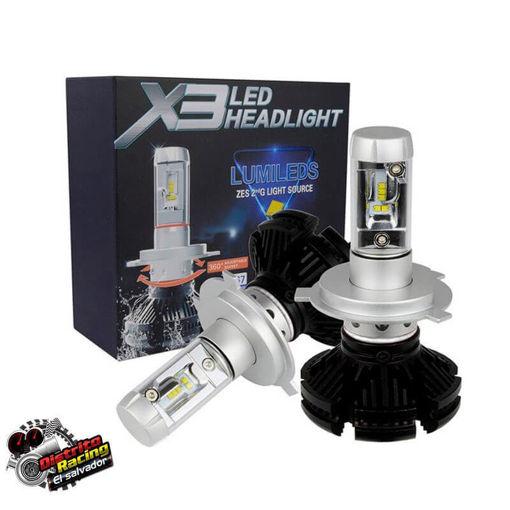 Luces-Led-X3-H4-luces-para-carro