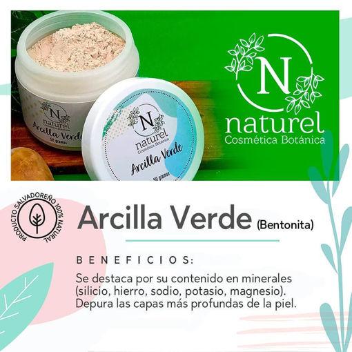 Imagen de Arcilla Verde (Bentonita)