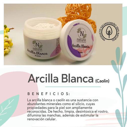 Imagen de Arcilla Blanca (Caolín)