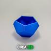Imagen de Maceta - Low Poly Pentagonal 1