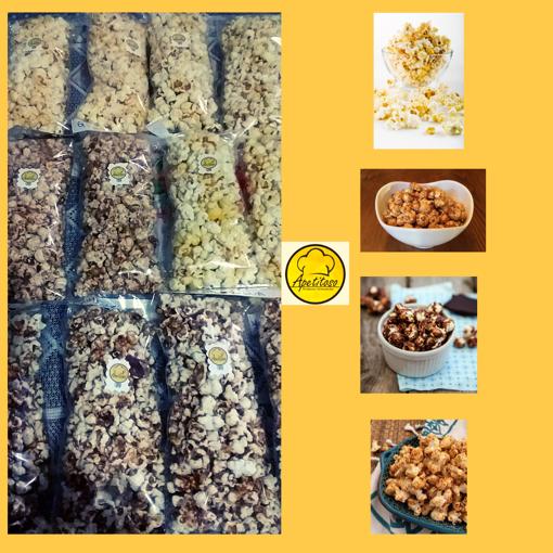 Imagen de Popcorn gourmet variedad (6 Bolsas de 80 gramos)