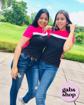 Imagen de Blusa estilo deportiva rosa