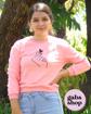 Imagen de Pullover de niñas con estampado de gesto