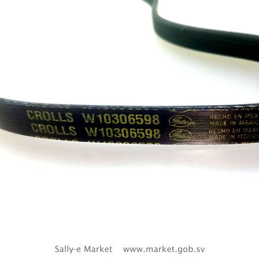 Faja para lavadora Whirlpool 82,2 cm de circunferecia