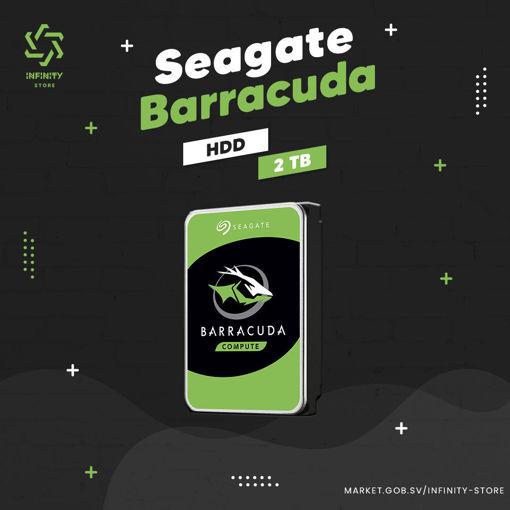 Imagen de Disco Duro Seagate - Barracuda 2TB