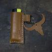 Imagen de Porta encendedor de cuero hecho a mano