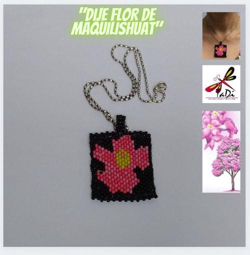 """Imagen de Dije """" Flor de Maquilishuat"""""""