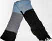 Imagen de Bufanda de lana a tres tonos de color